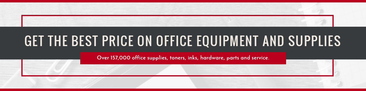 Get the Best Price on Office Equipment and Supplies
