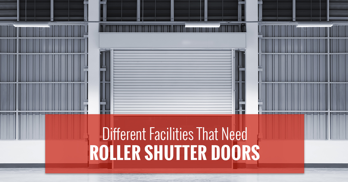 United Steel Products & Facilities That Need Roller Shutter Doors In New York City