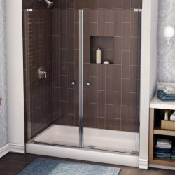 A picture of a gorgeous walk-in shower, installed by Upscale Bath Solutions.