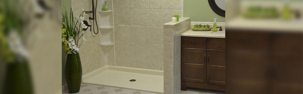 shower surround image