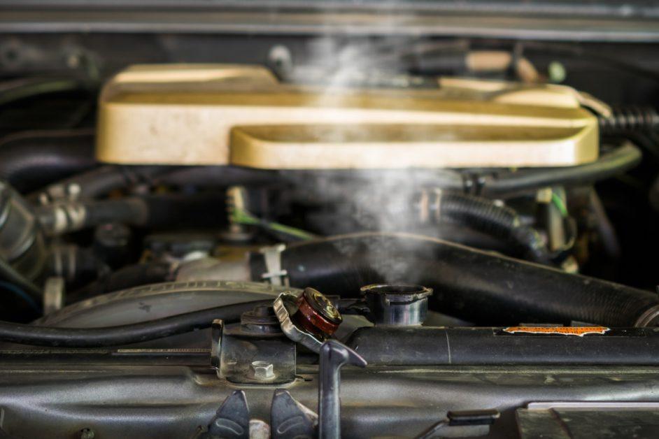 Hot Radiator Coolant