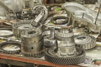 Transmission Gears Disassembled