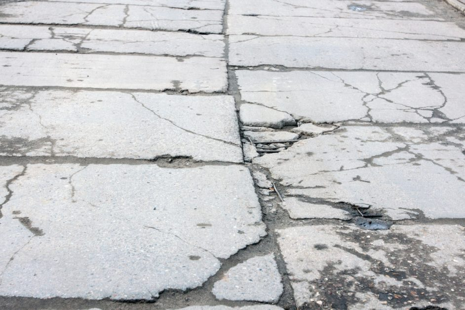 Damaged Road Surface