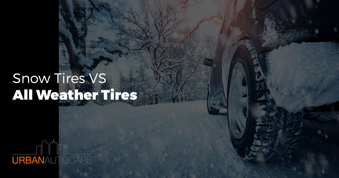 Snow Tires Versus All-Weather Tires
