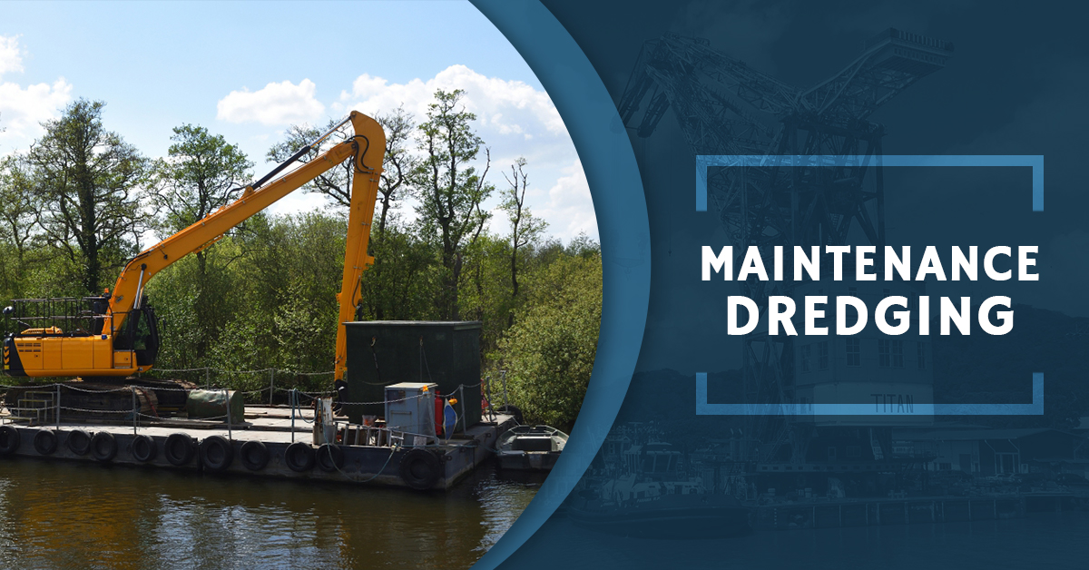 Maintenance Dredging - Contact Us For Dredging Services And