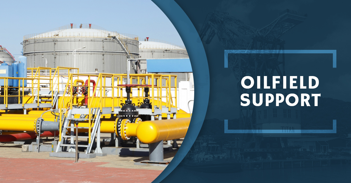 Oilfield Support - Equipment Rentals For Your Oilfield Dredging