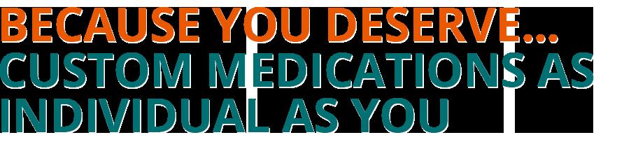 Custom Medicine for Individual You, Plano Tx