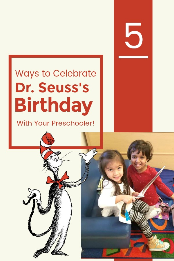 Celebrate Dr Seuss with Your Preschooler