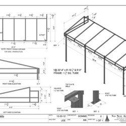 Custom patio cover awning design