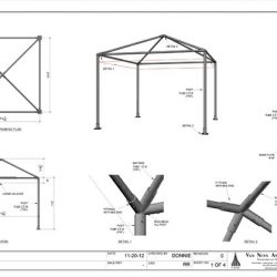 Shop Drawings - Door Awnings, Garden Canopies, Sail Shades ...