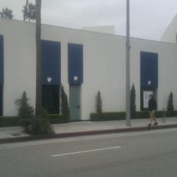 Blue window commercial awnings in Van Nuys