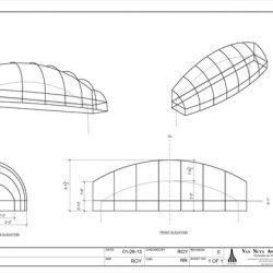 Custom storefront awning design in Van Nuys