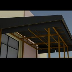 3D awning rendering and custom canopies