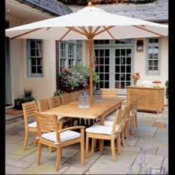 White residential umbrellas and custom umbrella design