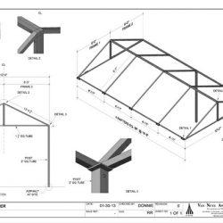 Custom metal carport design in Van Nuys