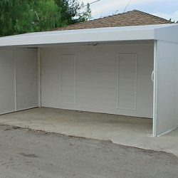 Custom carport awning