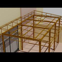 Custom 3D awning drawings and patio renderings