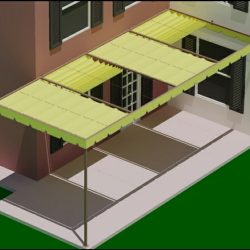 Residential awnings and custom patio renderings