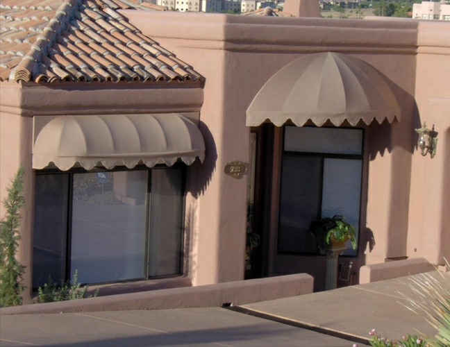 Residential - Porch Awnings, Patio Canopies, Sail Shades ...