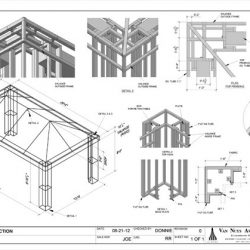 Canopy drawings and awning designs in Van Nuys