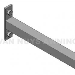 Storefront shop drawings and custom awning detail drawings