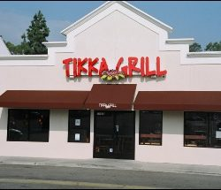 Custom restaurant awning for Tikka Grill