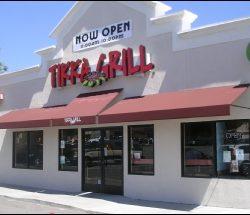 Our custom restaurant awning for Tikka Grill