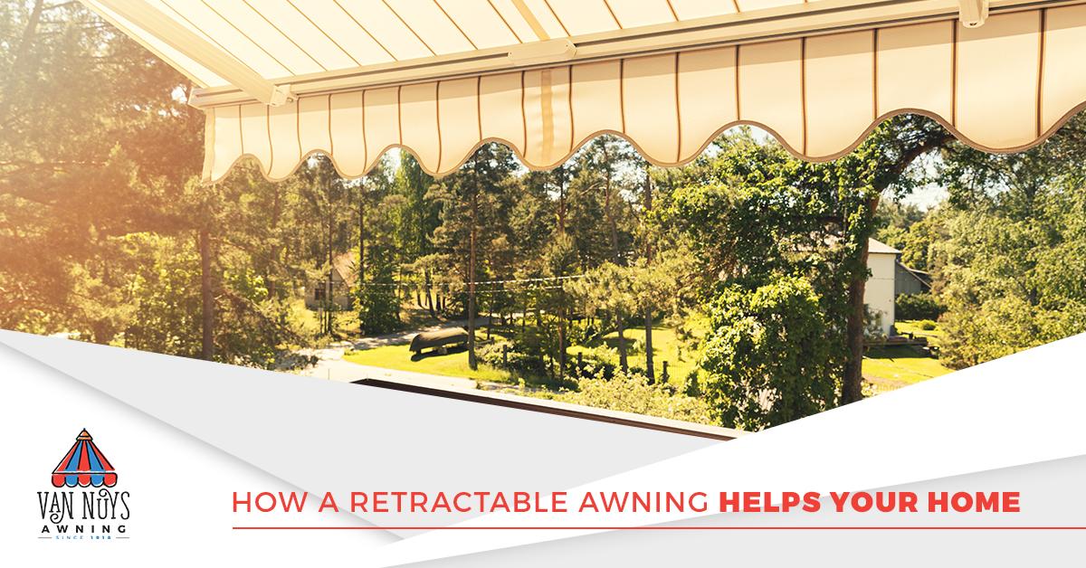 Custom residential awnings in Van Nuys