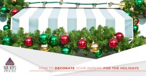 Decorate custom retractable awnings and canopies in Van Nuys