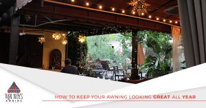 Keep your Van Nuys awnings looking great all year