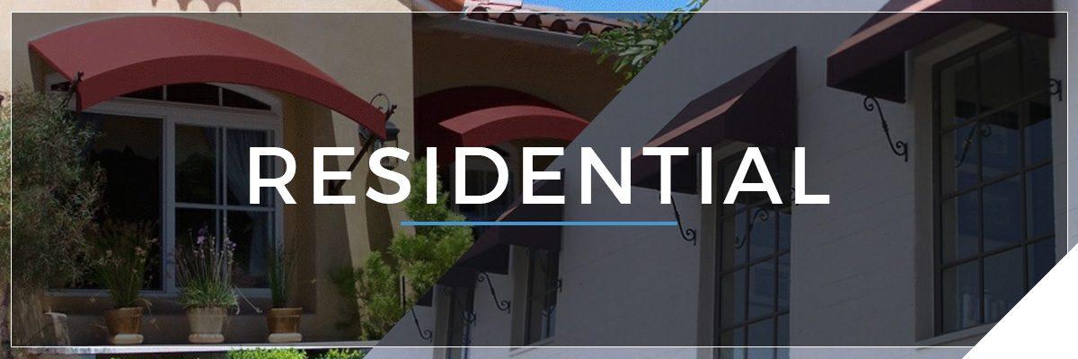 Residential awnings and custom designs in Van Nuys