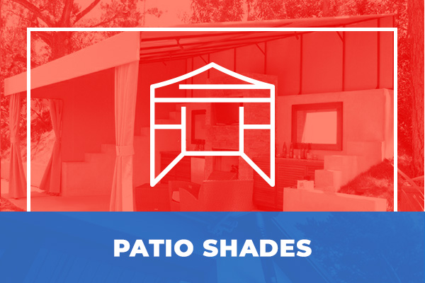 We can make custom patio shades for your property