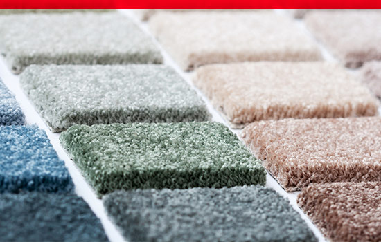 carpet swatches