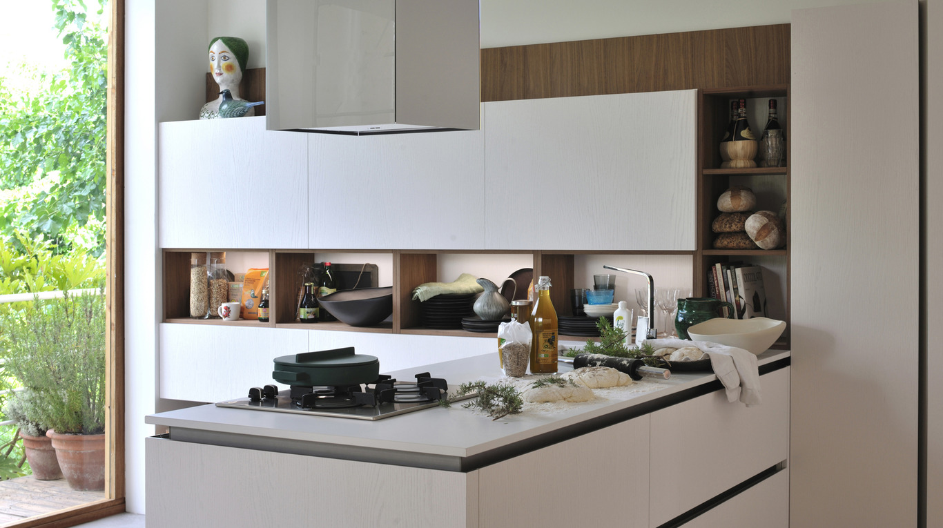 Luxury Kitchen In Manhattan - Oyster Pro | Veneta Cucine