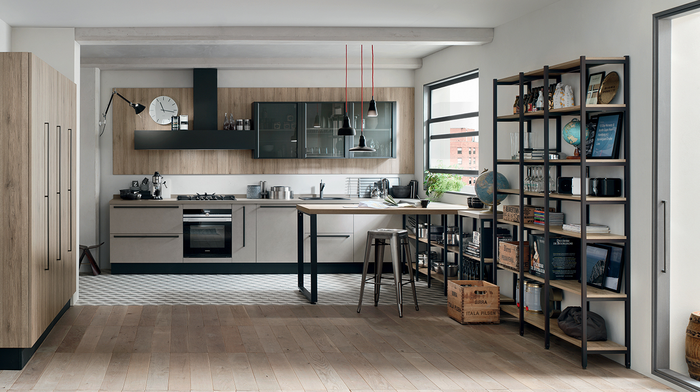 Veneta Cucine Start Time Go.Custom Kitchens In Manhattan Start Time Collection