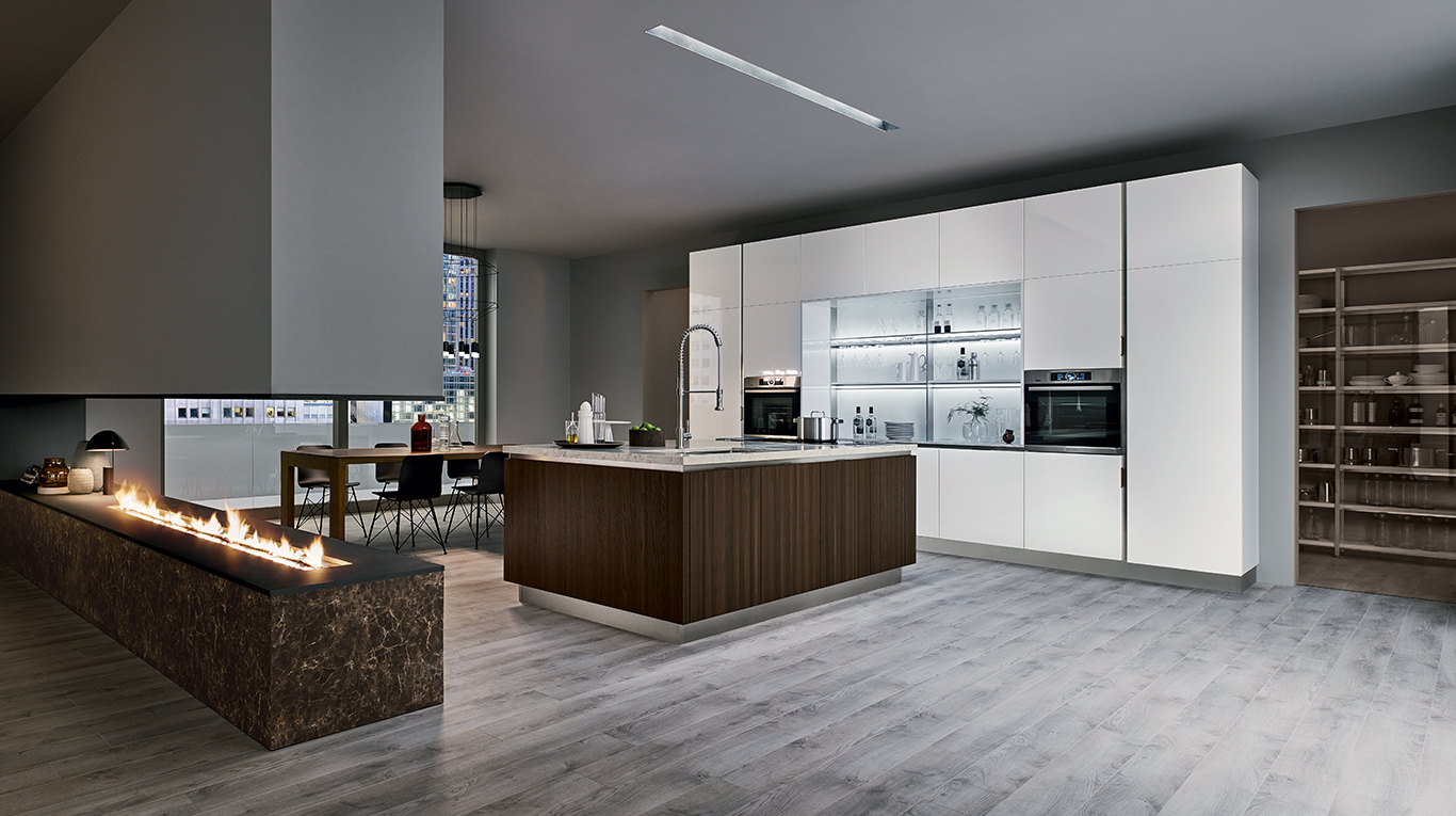 Custom Kitchens In Manhattan - Essence | Veneta Cucine