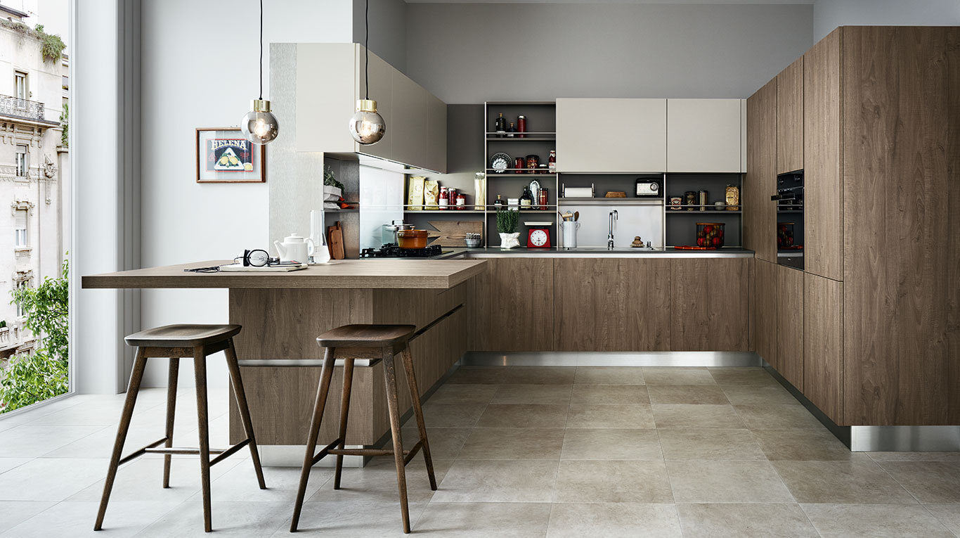 Custom Kitchens In Manhattan - Ethica.Go Collection | Veneta Cucine