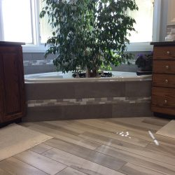 Bathroom Remodeling Project from Vertex Flooring and Design