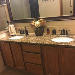 Quartz Countertops In The Bathroom
