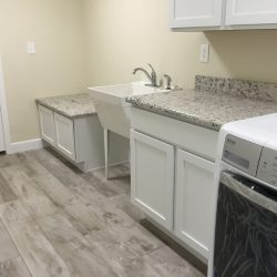 Floor Installation In Laundry Room