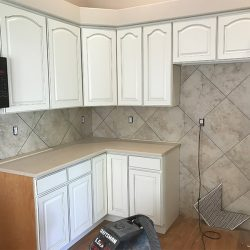 Kitchen Tile Wall Installation