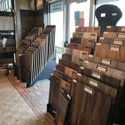 Wood Flooring Samples In Design Showroom