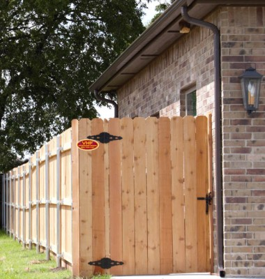 Residential fencing boosts your privacy, and your home security