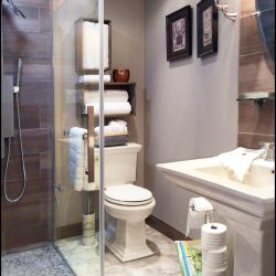 Take advantage of a fully stocked bathroom in our travel lodge at The Vineyard Suite.