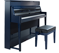 Viscount digital organ in blue