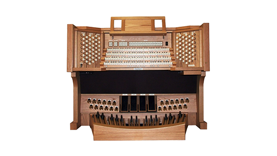 full sized church organ