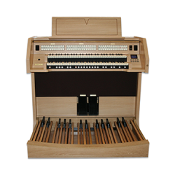 Hybrid organ for churches