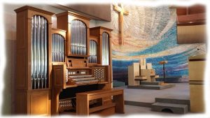 Hybrid Viscount Pipe Organ
