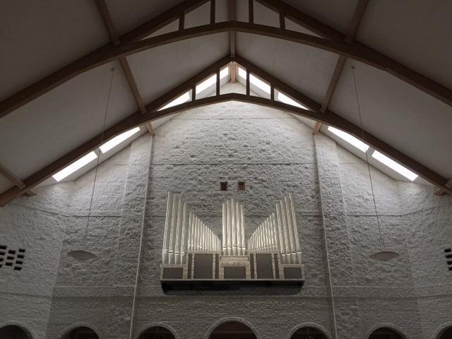 Viscount Pipe Organ Windchest Rendering