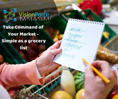 Take Command of Your Market - Simple as a grocery list